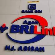 Jasa Pembuatan Huruf Timbul Akrilik Bank Murah Depok (29864322) di Kab. Maluku Tengah