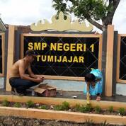 Jasa Pembuatan Huruf Timbul Stainless Merek Sekolah Bima (29870966) di Kab. Pulang Pisau