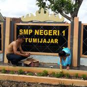 Jasa Pembuatan Huruf Timbul Stainless Merek Sekolah Jaya Pura (29871013) di Kab. Murung Raya