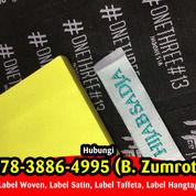 Bikin Label Baju Kendal 087838864997 (WA) (29893421) di Kota Yogyakarta