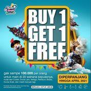Trans Studio Bandung BUY 1 GET 1 FREE !! (29901413) di Kota Bandung