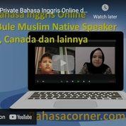 Private Bahasa Inggris Dengan Bule Muslim Native Speaker (29902721) di Kota Jakarta Selatan