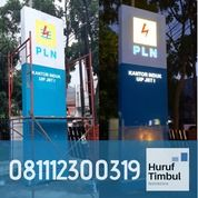 Pylon Sign PLN, Totem PLN Makassar (29904977) di Kota Makassar