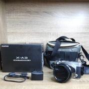 Kamera Fujifilm Xa-3 Second. Kondisi Bagus, Lecet Pemakaian Wajar. Fullset Lengkap. (29905507) di Kab. Sleman