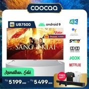 "[SELURUH INDONESIA] TV COOCAA 50"" UB7500 - ANDROID 9 - 4K - GOOGLE ASSISTANT - DOLBY VISION & AUDIO (29906663) di Kota Jakarta Utara"