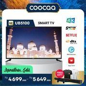"[SELURUH INDONESIA] TV COOCAA 50"" UB5100 - 4K - DTS STUDIO SOUND - NETFLIX (29906686) di Kota Jakarta Utara"