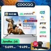 "[SELURUH INDONESIA] TV COOCAA 65"" S6G PRO ANDROID 10 - 4K HDR - GOOGLE ASSISTANT - DOLBY AUDIO (29909833) di Kota Jakarta Utara"