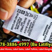 Tempat Pesan Label Baju Bantul Jogja 087838864997 (WA) (29912237) di Kab. Tegal