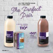 The Coffee Bean promo The Perfect Pair 2 Big Bottle 1L + 1 Cookies (29912319) di Kota Jakarta Selatan