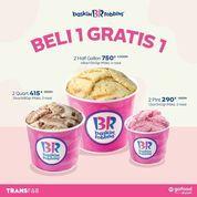 Baskin Robbins Beli 1 Gratis 1 (29912419) di Kota Jakarta Selatan