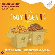 Goban takeout Buy 1 Get 1 (29915710) di Kota Jakarta Utara