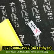 Pesan Label Baju Cilacap 087838864997 (WA) (29927137) di Kab. Sleman