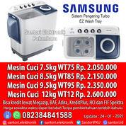 Mesin Cuci Samsung 7.5kg 8.5kg 9.5kg 12kg Garansi Motor 5 Tahun Resmi (29932440) di Kota Pekanbaru