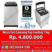 Mesin Cuci Otomatis Top Loading Samsung 11kg Wobble Garansi Resmi (29932484) di Kota Pekanbaru
