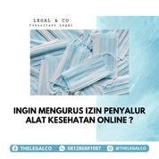 IZIN PENYALUR ALAT KESEHATAN ONLINE (29933134) di Kota Jakarta Selatan