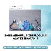 IZIN PRODUKSI ALAT KESEHATAN (29933141) di Kota Jakarta Selatan