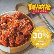 Friday's Chicket Diskon 30% (29934696) di Kota Jakarta Selatan