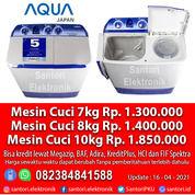 Mesin Cuci AQUA Japan 7kg 8kg 10kg 12kg 14kg 20kg Garansi Resmi (29935727) di Kota Pekanbaru