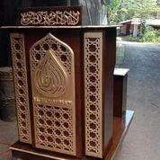 Mimbar Podium Masjid Minimalis+Dudukan (29936204) di Kota Dumai