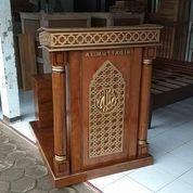 Mimbar Podium Masjid Minimalis+Bangku (29936211) di Kota Dumai