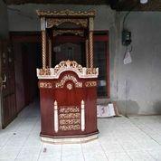 Mimbar Masjid Kubah Gendong Warna Kombinasi (29936213) di Kota Dumai