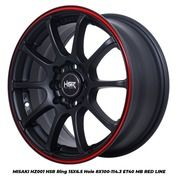 Pelek Mobil Brio MISAKI RS HZ001 HSR Ring 15X65 Hole 4X100-114,3 ET40 MB/RL (29941466) di Kota Semarang