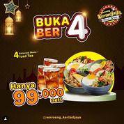 Waroeng Kertadjaya Promo Buka ber-4 (29948487) di Kota Surabaya