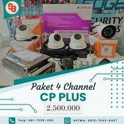 CCTV Brand Jerman CP-Plus 4Camera 2,4MP (29953641) di Kab. Tapanuli Utara