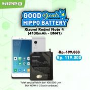 Hippo Baterai BN41 Xiaomi Redmi Note 4 4100 MAh Premium Cell Quality (29963975) di Kota Jakarta Barat