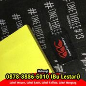 TANGAN PERTAMA 087838865010 Tempat Bikin Label Baju Semarang (29968037) di Kab. Sleman