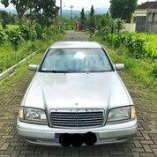 Mercedes Benz W202 C180 Manual Warna Silver Tahun 1996 Kondisi Mulus Dan Jarang Ada (29979251) di Kota Banjar