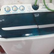 Mesin Cuci 2 Tube Normal Siap Pakai 8,5 Kg Candi Sidoarjo (29982098) di Kab. Sidoarjo