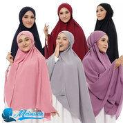 Hijab Instan Bergo Maryam Super Jumbo Bahan Diamond Crepe Premium (29985139) di Kota Tasikmalaya