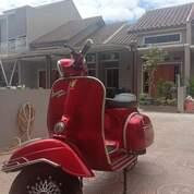 Vespa Super Tahun 1975 Merah Hati (29991692) di Kota Bekasi