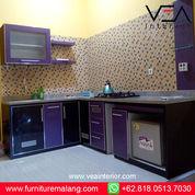 Jasa Kitchen Set Malang, WA O8l8-O5l3-7O3O, Kitchen Set Anti Rayap PVC (30000137) di Kota Batu