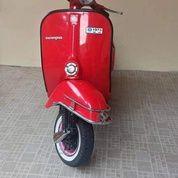 Vespa Super Tahun 1973 Merah (30015337) di Kab. Bekasi