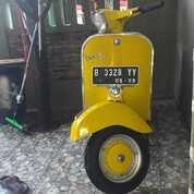 Vespa Super Tahun 1976 Kuning (30019529) di Kab. Bekasi