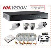 Camera Hikvision Paket 4Channel 2Megapixel (30020629) di Kota Medan