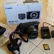 Mirorless Canon Eos M3 Mulus Banyak Bonus (30023313) di Kota Blitar