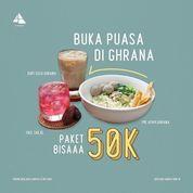 Ghrana Kopi & Pastry promo PAKET BISAAA (30023346) di Kota Jakarta Selatan