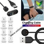 Kabel USB Cas Charger Xiaomi Mi Band 5 Magnet Jepit Miband 5 Smart Termurah (30036298) di Kota Surakarta