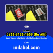 PABRIK 085231361659 Tempat Bikin Label Baju Majalengka (30038238) di Kab. Majalengka