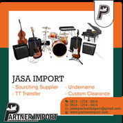 JASA IMPORT ALAT MUSIK | PARTNERIMPORT.COM | 081317149214 (30045296) di Kota Jakarta Timur