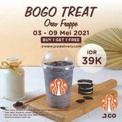 JCO Donuts & Coffee promo Buy 1 Get 1 TREAT mulai 03 - 09 Mei 2021 (30048916) di Kota Jakarta Selatan