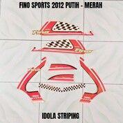Striping Fino Sports 2012 Putih - Merah (30053527) di Kota Jambi