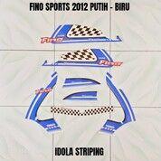 Striping Fino Sports 2012 Putih - Biru (30053532) di Kota Jambi
