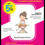 Jasa Setrika Kilat Cirebon - Free Pick Up & Delivery (30054230) di Kota Cirebon