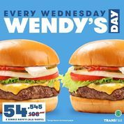 "Wendy's- Promo terbaru ""WENDY'S DAY"" (30054399) di Kota Jakarta Selatan"