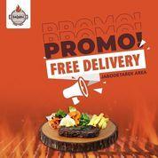 Baqara Steak and Grill Promo Free Delivery (30059148) di Kota Jakarta Selatan