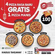 Pizza Hut 4 pizza rasa baru, GRATIS 1 pizza manis! (30059220) di Kota Jakarta Selatan